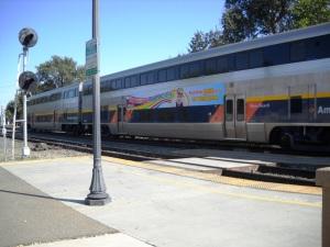 DSCN0210 train westbound to San Jose