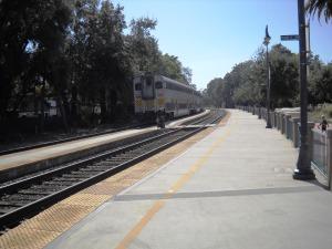 DSCN0213 Westbound train leaving Davis